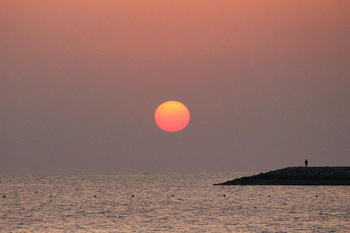 20120327sunsetman.JPG